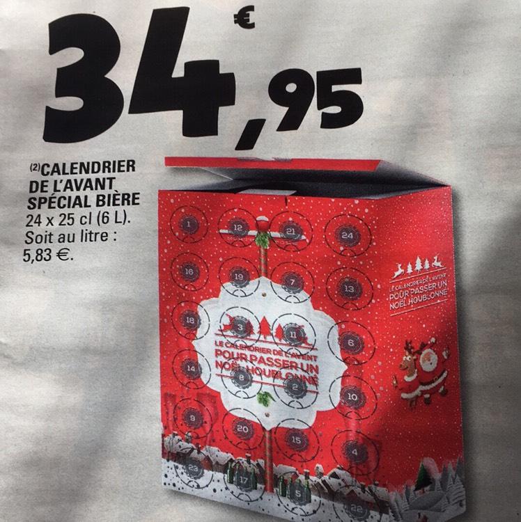 Calendrier de l 39 avent sp cial bi re 24 bi res de 25cl lexy 54 - Calendrier de l avent biere carrefour ...