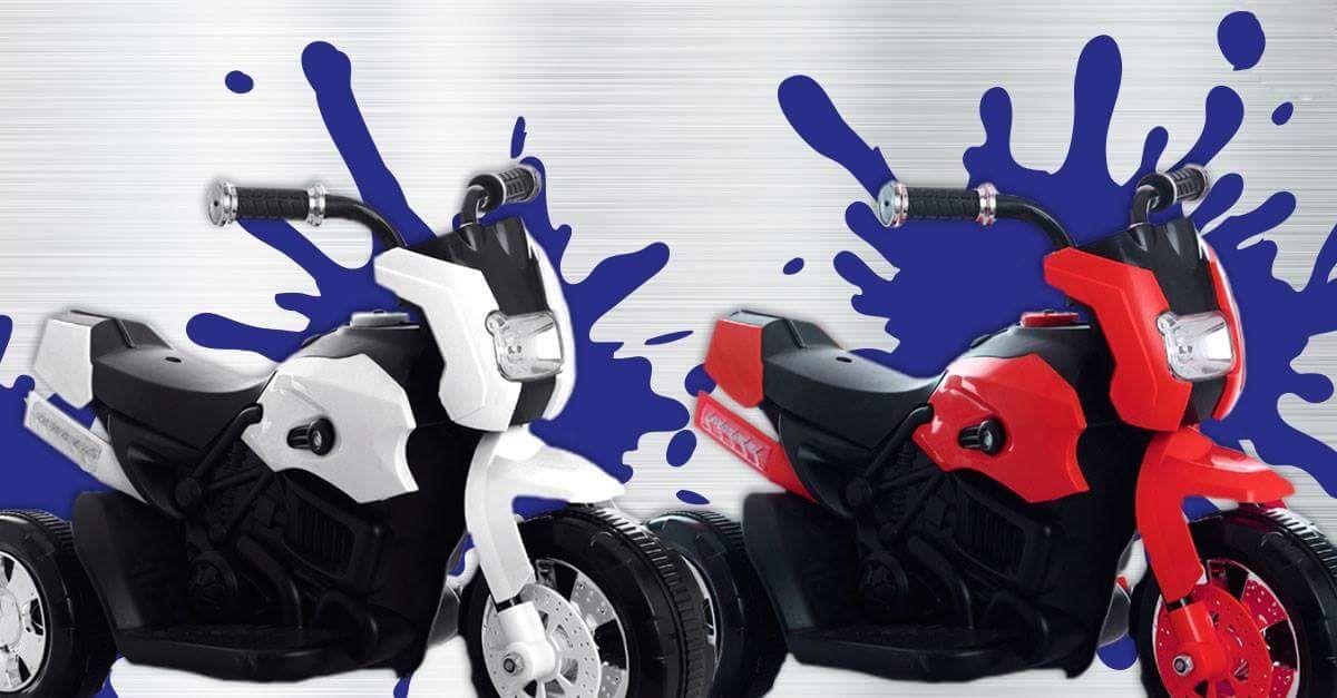 moto lectrique pour enfant autonomie 1h divers coloris. Black Bedroom Furniture Sets. Home Design Ideas