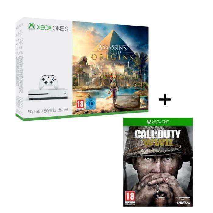 console microsoft xbox one s 500 go assassin 39 s creed. Black Bedroom Furniture Sets. Home Design Ideas