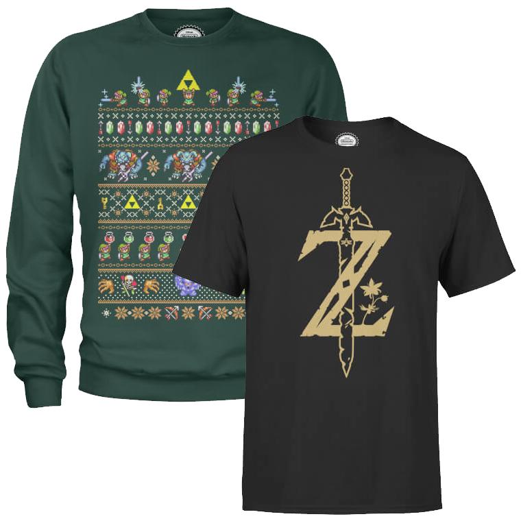Sweat De No L T Shirt Nintendo Zelda Donkey Kong