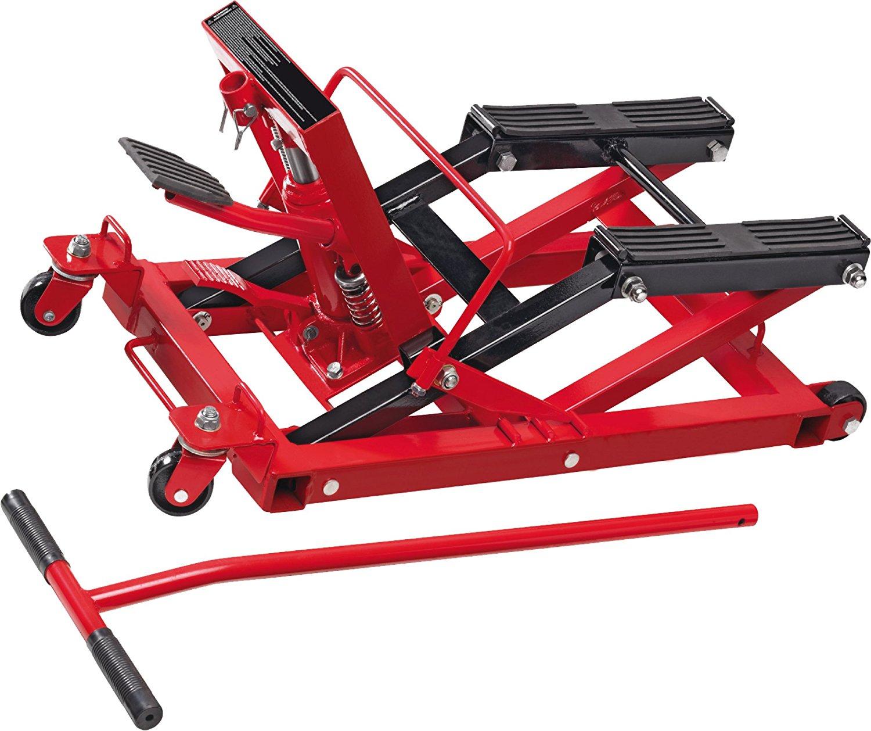 plateforme de levage pour motos cartrend 50241 jusqu 39 680 kg. Black Bedroom Furniture Sets. Home Design Ideas