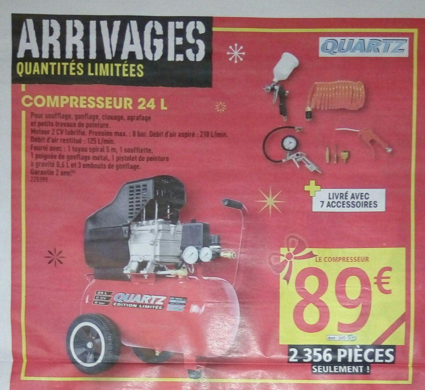 Compresseur Quartz 24l 7 Accessoires Dealabs Com