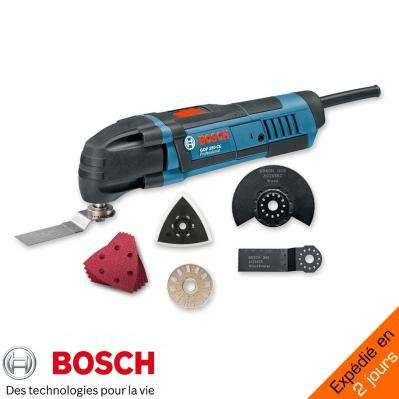 pack pro bosch multitool 250w 8 accessoires. Black Bedroom Furniture Sets. Home Design Ideas