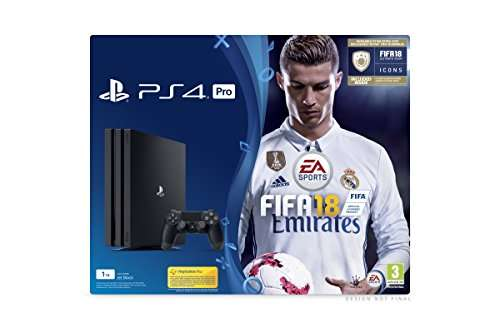 console ps4 pro 1 to jeu fifa 18 edition icons. Black Bedroom Furniture Sets. Home Design Ideas