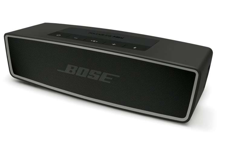 enceinte bluetooth bose soundlink mini 2 noire carbone. Black Bedroom Furniture Sets. Home Design Ideas