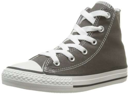 chaussures converse chuck taylor all star gris anthracite pour enfants taille 20 34. Black Bedroom Furniture Sets. Home Design Ideas