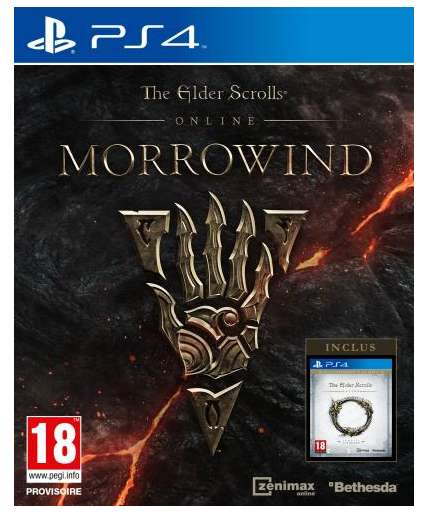 the elder scrolls online morrowind sur ps4 ou pc. Black Bedroom Furniture Sets. Home Design Ideas
