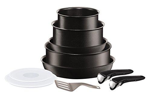 Set de po les et casseroles tefal ingenio 5 performance - Tefal ingenio5 set 10 pieces noir ...
