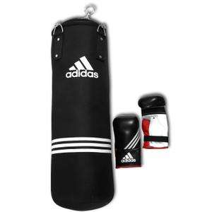 kit sac de frappe adidas punching ball gants. Black Bedroom Furniture Sets. Home Design Ideas