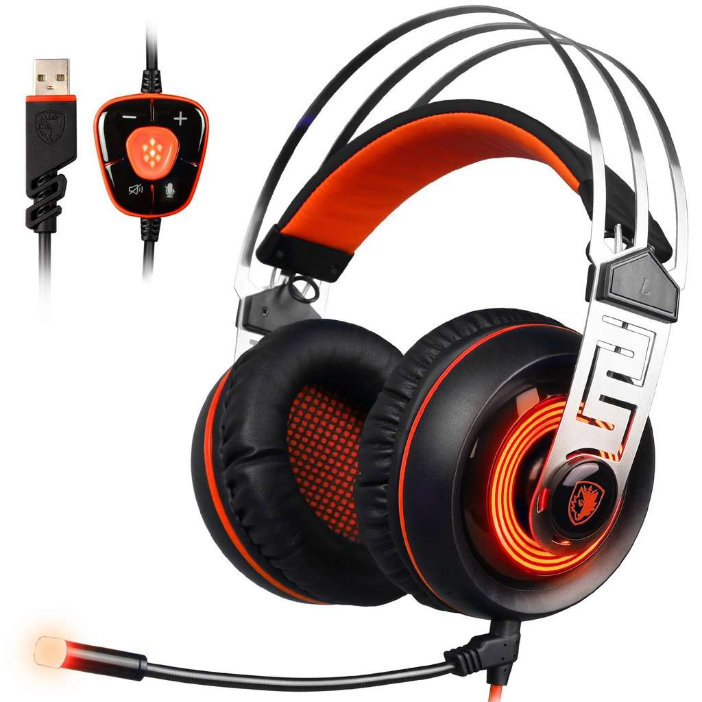 casque micro sades a7 gaming headset 7 1 son surround virtuel usb vendeur tiers. Black Bedroom Furniture Sets. Home Design Ideas