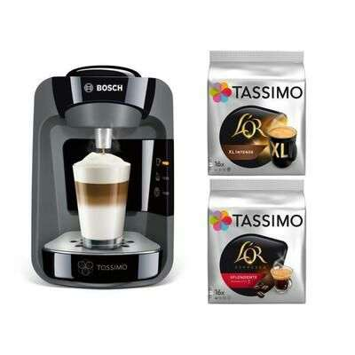 machine caf bosch tassimo suny tas3702 all black edition 2 packs de t discs. Black Bedroom Furniture Sets. Home Design Ideas