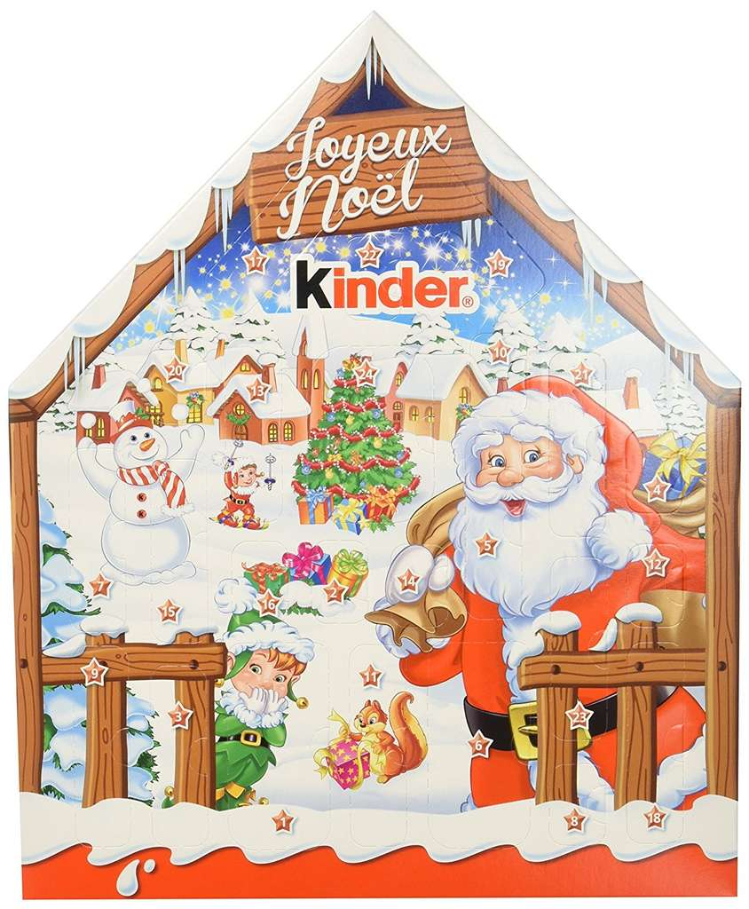 prime now calendrier de l 39 avent kinder chalet. Black Bedroom Furniture Sets. Home Design Ideas