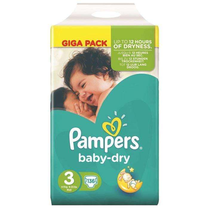 Giga pack couches pampers baby dry antibes 06 - Couches pampers baby dry ...
