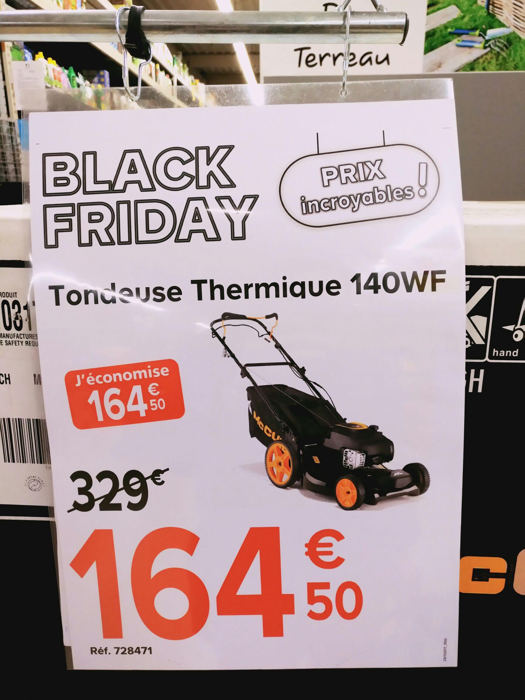 Tondeuse thermique tract e m53 140wf mccullochtondeuse thermique tract e m53 140wf mcculloch - Castorama tondeuse thermique ...