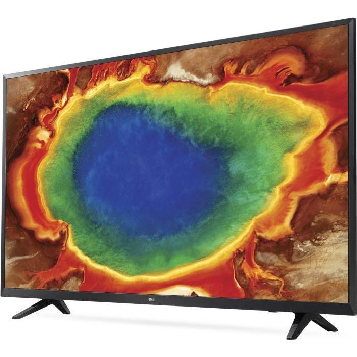 tv 65 lg 65uj620v led 4k uhd hdr smart tv. Black Bedroom Furniture Sets. Home Design Ideas