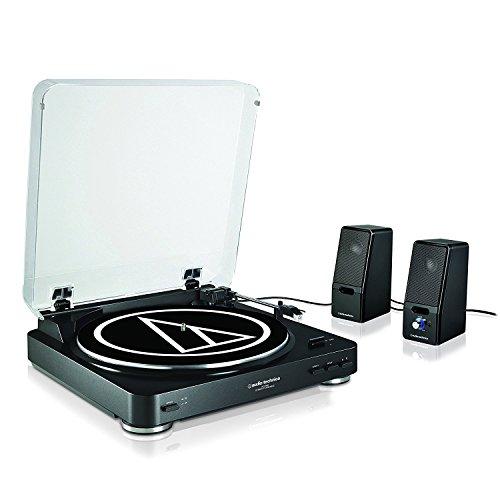 pack platine vinyle audio technica at lp60 noir enceintes sp121bke. Black Bedroom Furniture Sets. Home Design Ideas