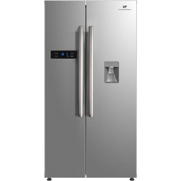 Réfrigérateur Américain Continetal Edison CERALNFIX L No - Frigo americain 1 porte distributeur de glacons