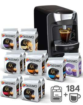 machine caf tassimo suny t32 184 boissons 65 ou tassimo vivy t12 160 boissons. Black Bedroom Furniture Sets. Home Design Ideas