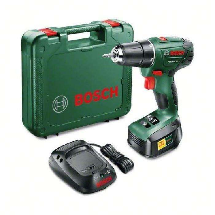 Perceuse bosch psr 1800 li 2 1 batterie coffret de 70 - Batterie perceuse bosch ...