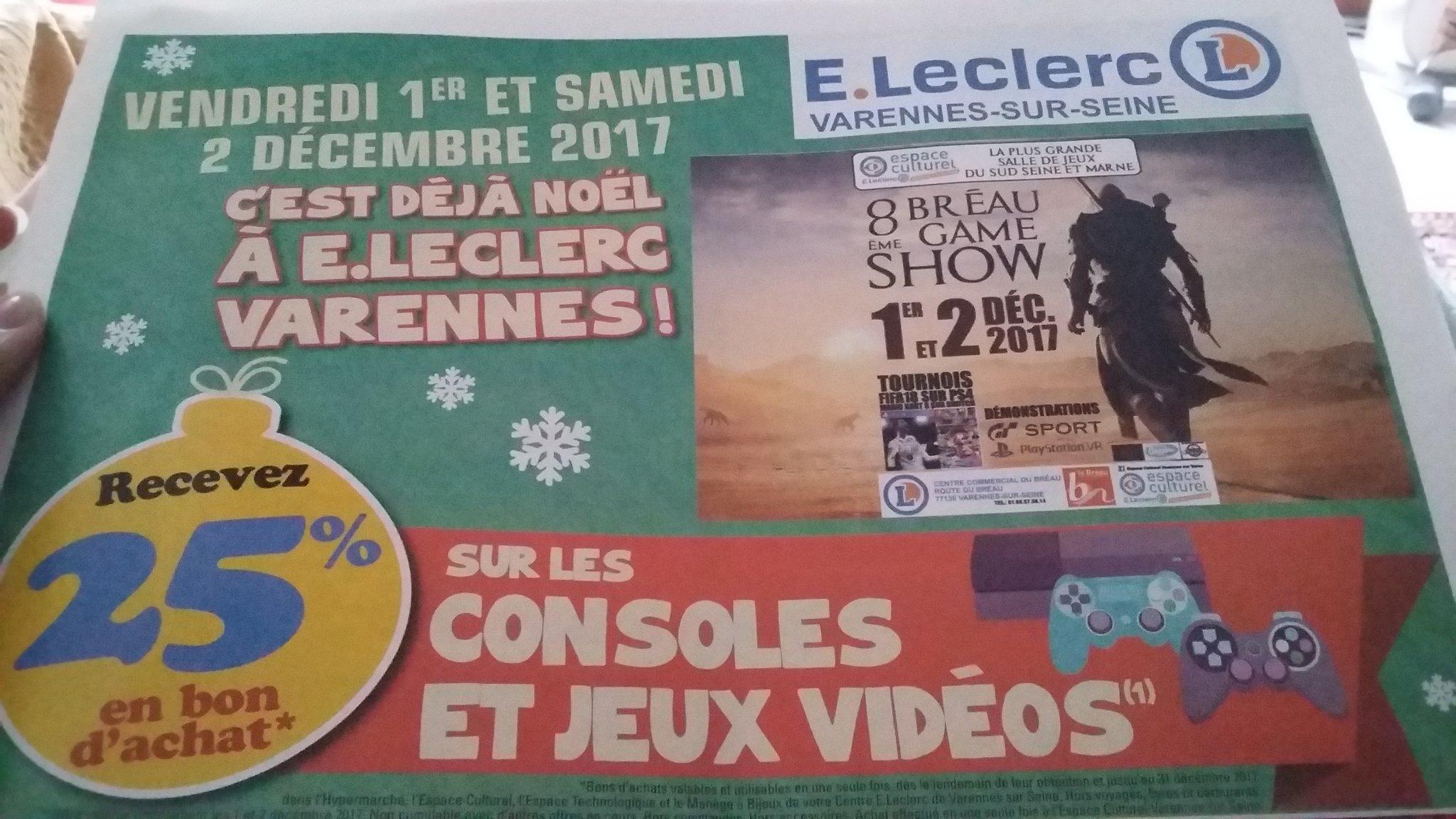 Console nintendo switch via 73 en bon d 39 achat leclerc for Leclerc varennes