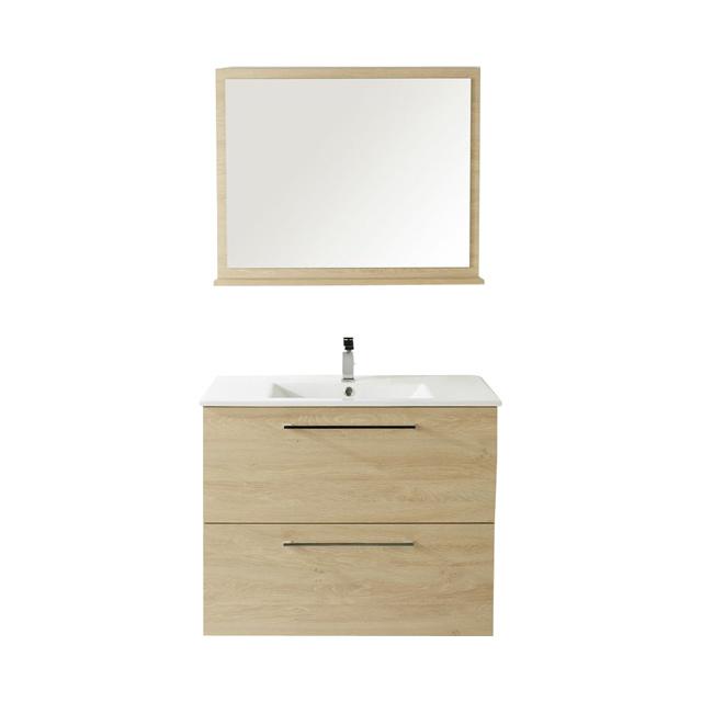meuble vasque 80 cm miroir caen fleury sur orne 14. Black Bedroom Furniture Sets. Home Design Ideas