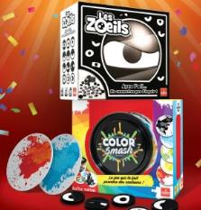 Jeu de soci t goliath 100 rembours s color smash ou - Code promo king jouet frais de port gratuit ...