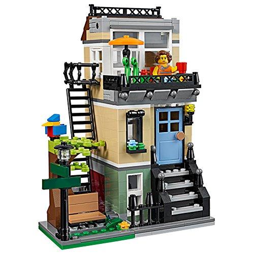 jeu de construction lego creator 31065 la maison de ville. Black Bedroom Furniture Sets. Home Design Ideas
