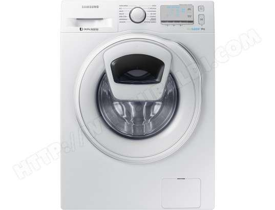 lave linge frontal samsung ww8ek6415sw addwash 8kg via. Black Bedroom Furniture Sets. Home Design Ideas