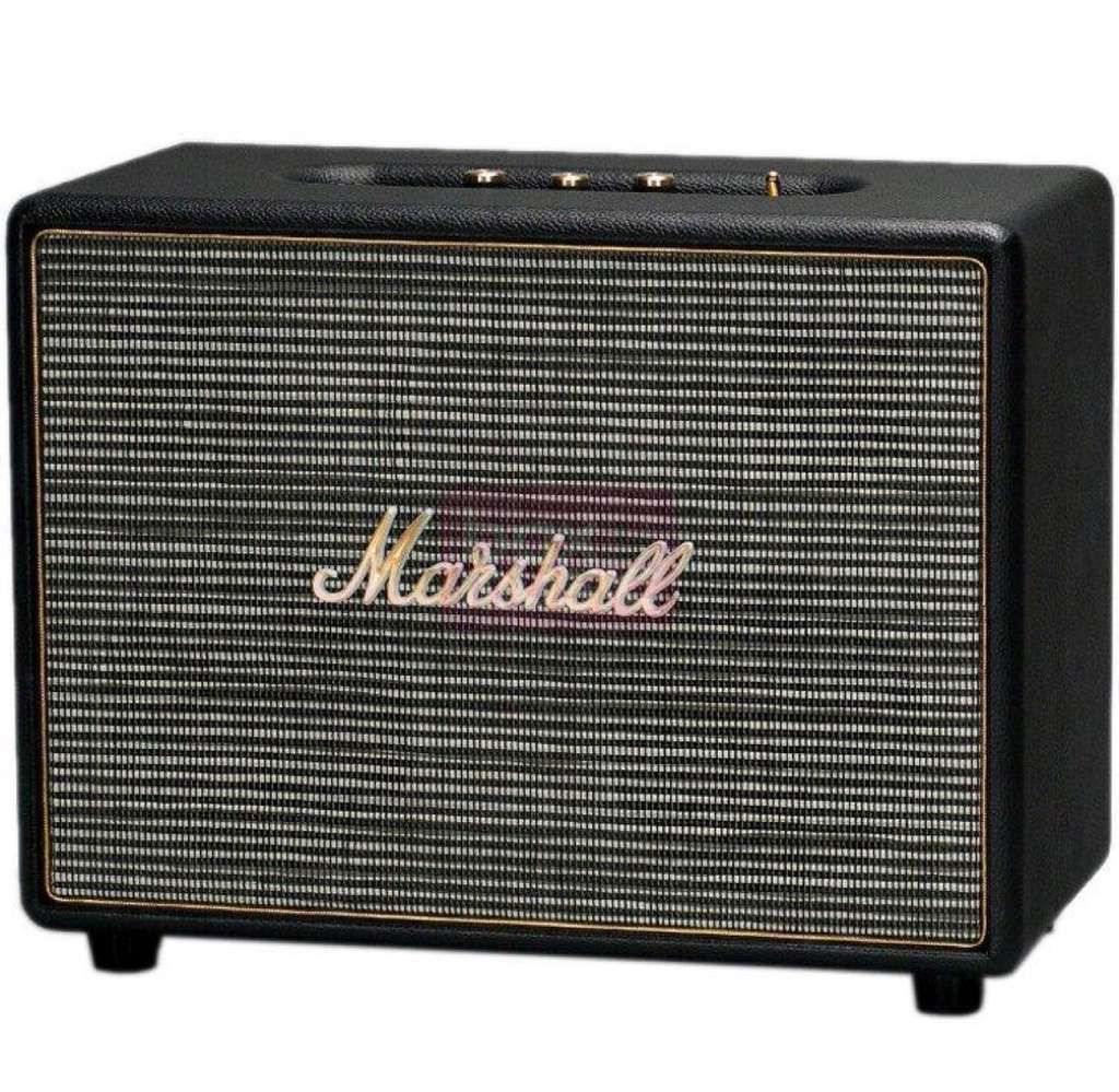 enceinte bluetooth marshall woburn black. Black Bedroom Furniture Sets. Home Design Ideas