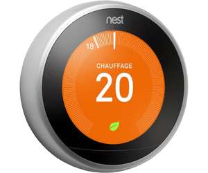 Thermostat connect nest learning thermostat 3 me - Thermostat connecte nest ...
