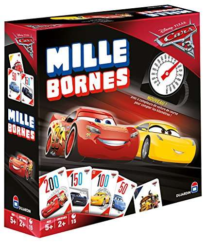 jeu de cartes dujardin mille bornes cars 3 amazon prime. Black Bedroom Furniture Sets. Home Design Ideas