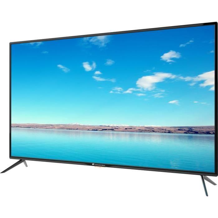 tv 55 continental edison celed55bfb6 led 4k uhd. Black Bedroom Furniture Sets. Home Design Ideas