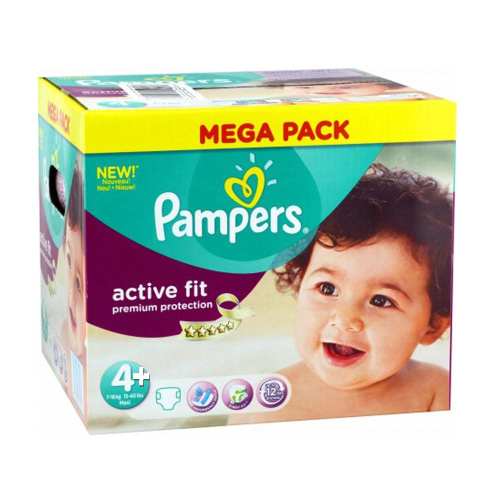 Paquet de couches pampers premium protection active fit - Combien coute un paquet de couche pampers ...