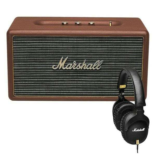 enceinte bluetooth marshall stanmore casque marshall. Black Bedroom Furniture Sets. Home Design Ideas