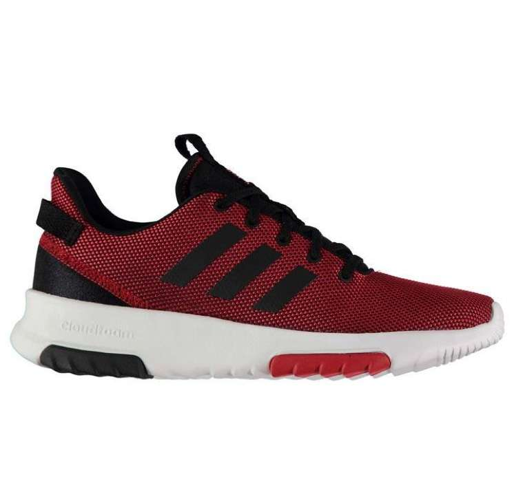 baskets homme adidas cloudfoam racer trainers. Black Bedroom Furniture Sets. Home Design Ideas