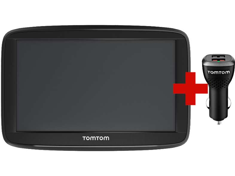 gps tomtom via 53 chargeur voiture frontaliers belgique. Black Bedroom Furniture Sets. Home Design Ideas