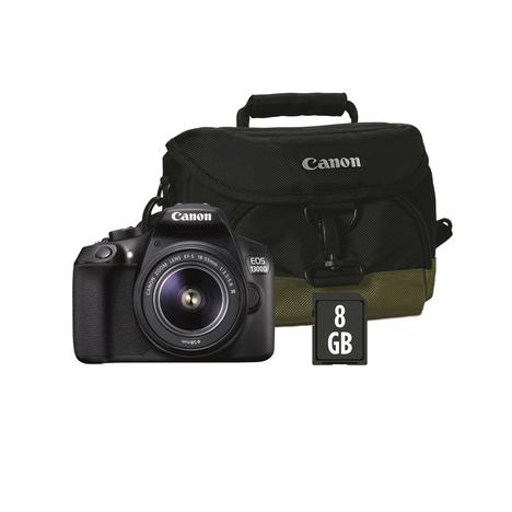 appareil photo reflex canon eos 1300d objectif 18 55mm. Black Bedroom Furniture Sets. Home Design Ideas