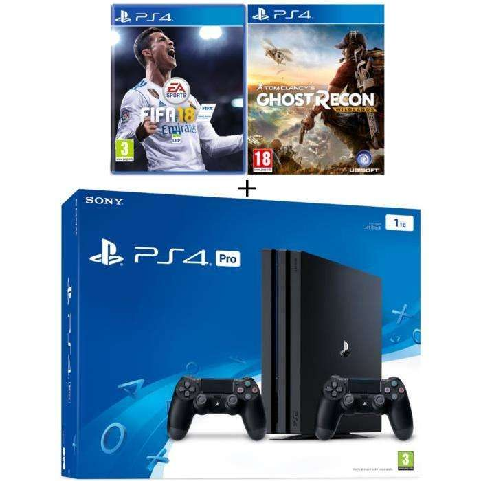s lection de packs ps4 en promotion ex console sony. Black Bedroom Furniture Sets. Home Design Ideas