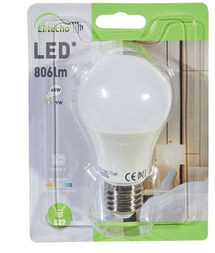 Carte de fid lit lot de 10 ampoules led diff rents - Carrefour ampoule led ...