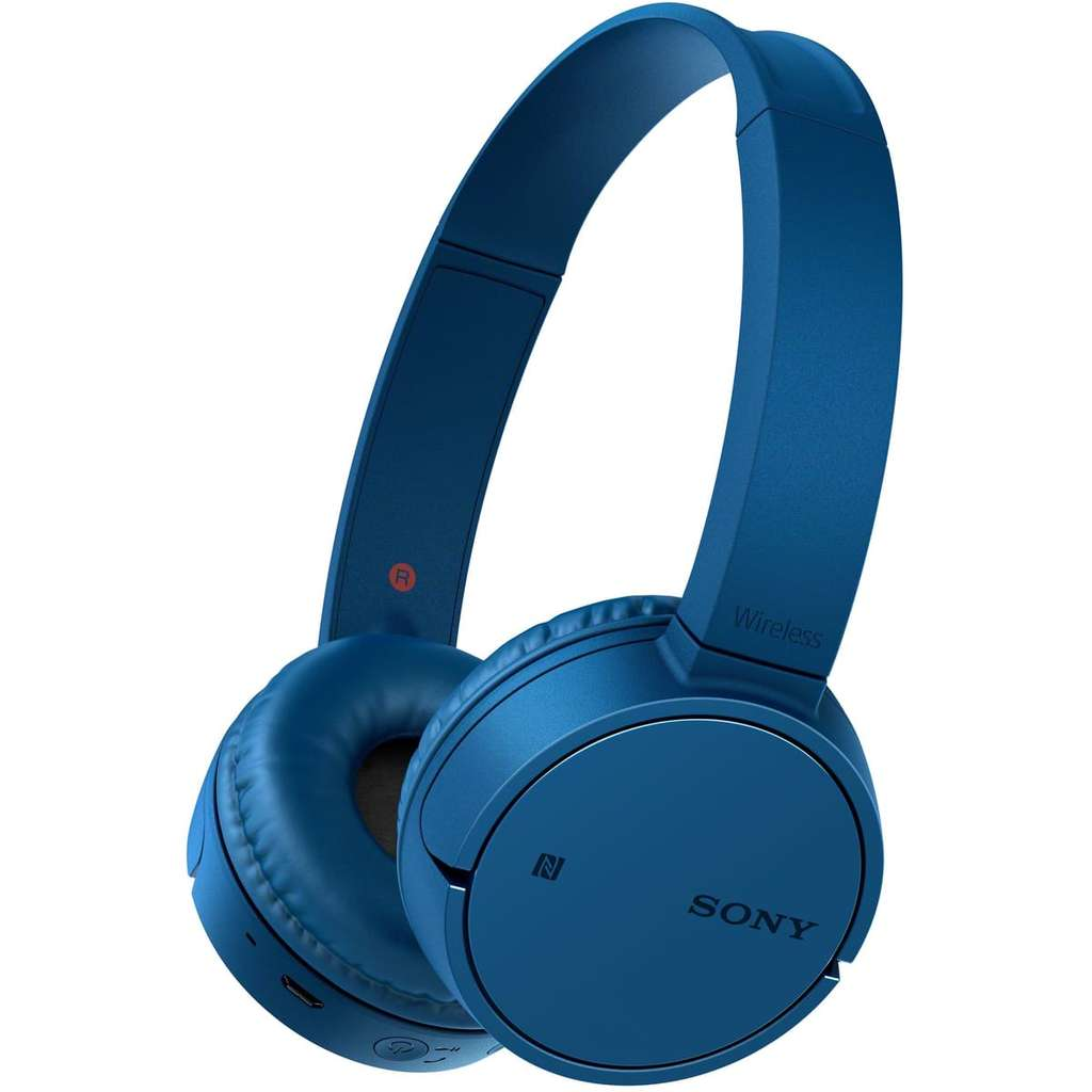 casque audio bluetooth nfc sony mdr zx220bt bleu. Black Bedroom Furniture Sets. Home Design Ideas