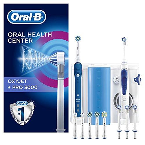 combin dentaire oral b center oxyjet pro 3000 brosse. Black Bedroom Furniture Sets. Home Design Ideas