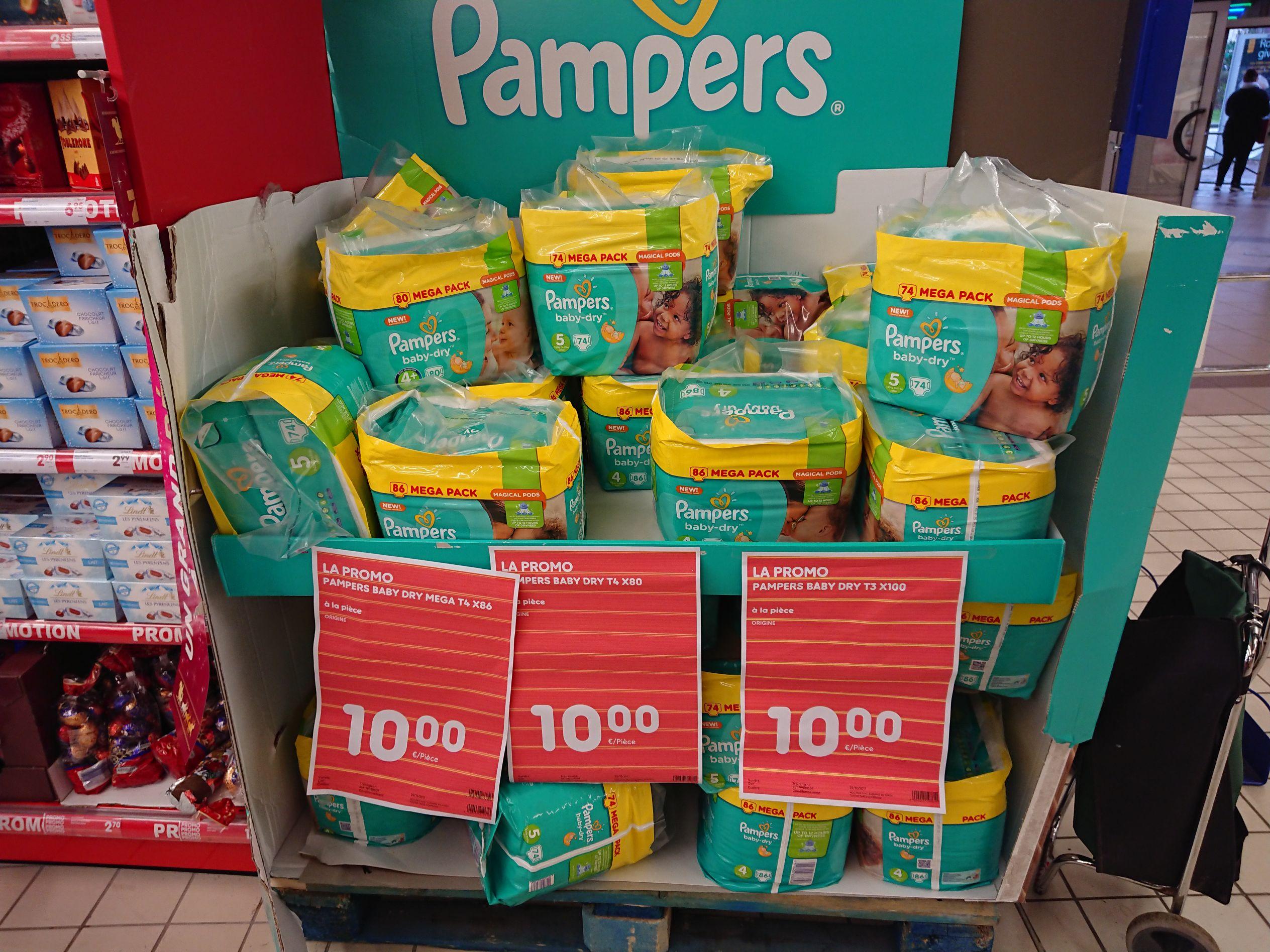 S lection de paquets de couches pampers 10 ex - Combien coute un paquet de couche pampers ...