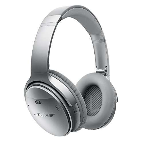 casque audio sans fil bose quietcomfort 35 silver. Black Bedroom Furniture Sets. Home Design Ideas