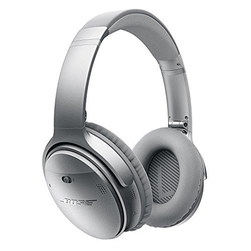 casque audio sans fil bose quietcomfort 35 silver r duction de bruit bluetooth nfc. Black Bedroom Furniture Sets. Home Design Ideas