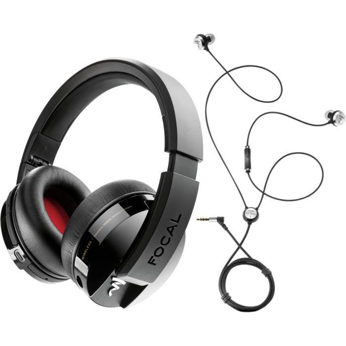 casque audio sans fil focal listen wireless couteurs intra auriculaires focal sphear. Black Bedroom Furniture Sets. Home Design Ideas