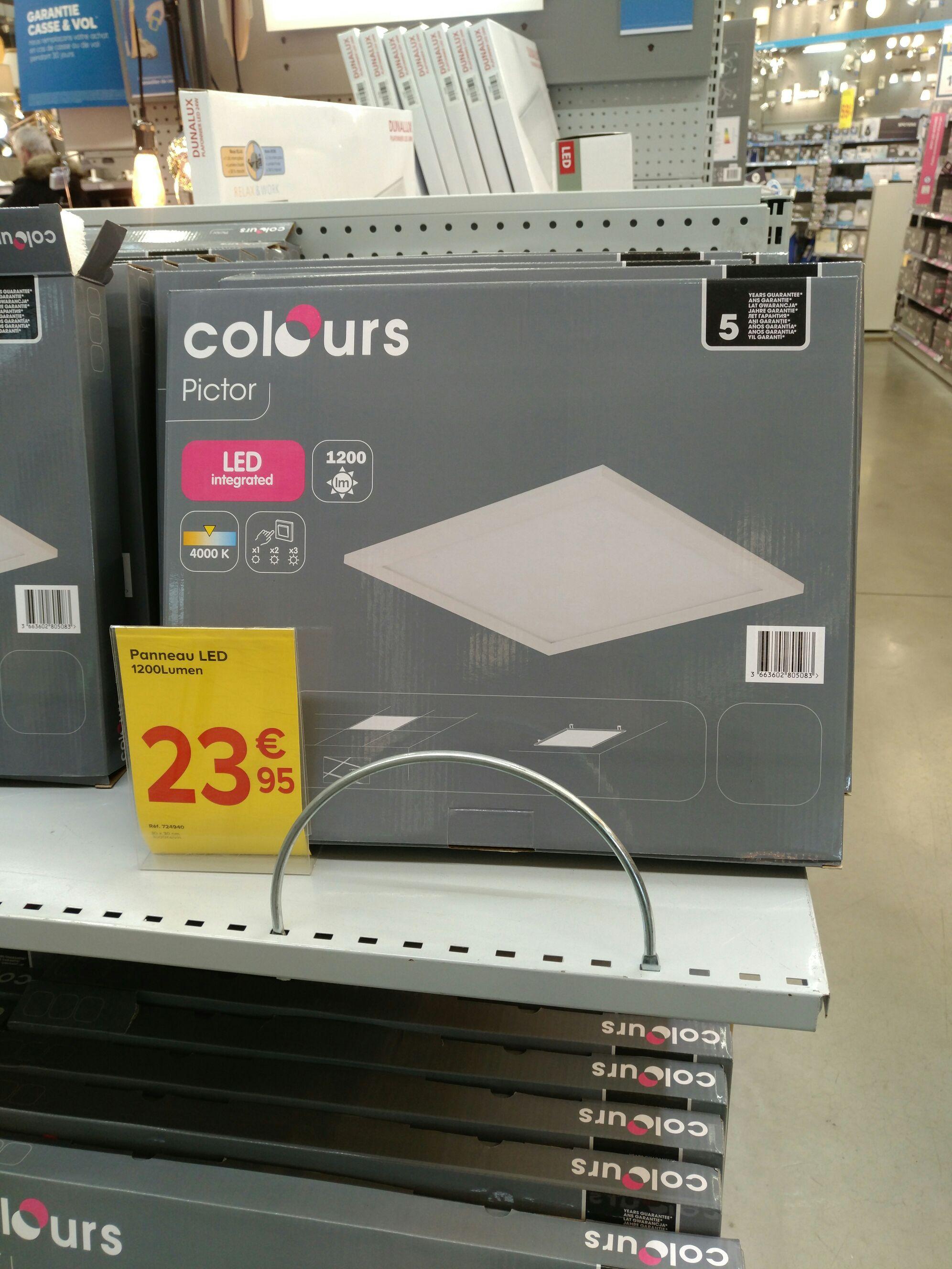 pav leds colorus 30x30cm saint cl ment 34. Black Bedroom Furniture Sets. Home Design Ideas