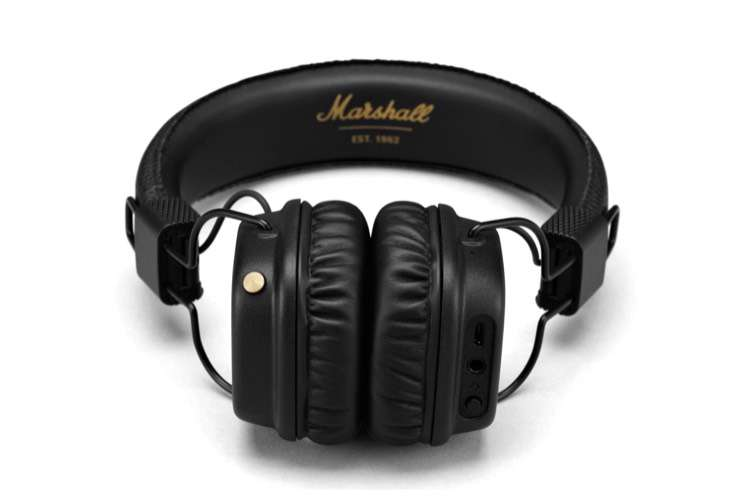 casque audio bluetooth marshall major ii noir. Black Bedroom Furniture Sets. Home Design Ideas