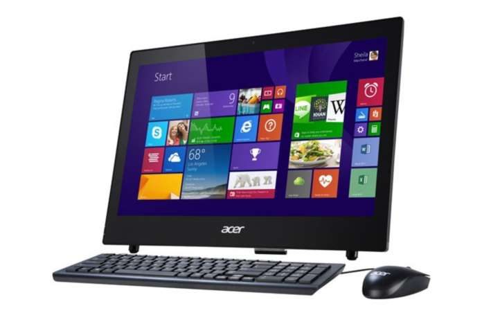 ordinateur de bureau tout en un acer aspire z1 602 saint. Black Bedroom Furniture Sets. Home Design Ideas