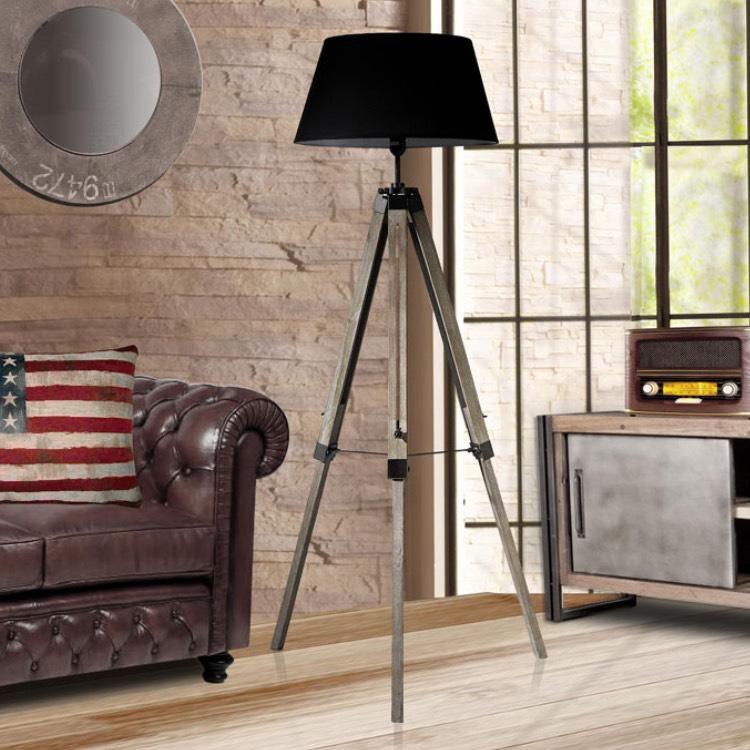 lampadaire style scandinave industriel. Black Bedroom Furniture Sets. Home Design Ideas