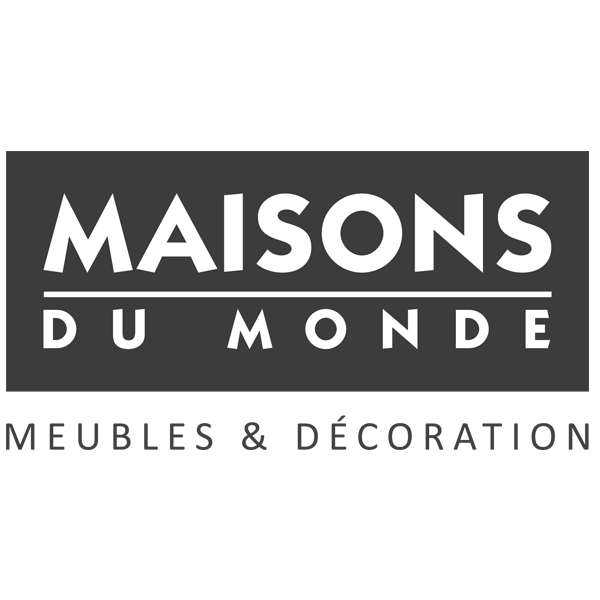 50 de r duction sur une s lection d 39 articles maison du for Logo maison du monde